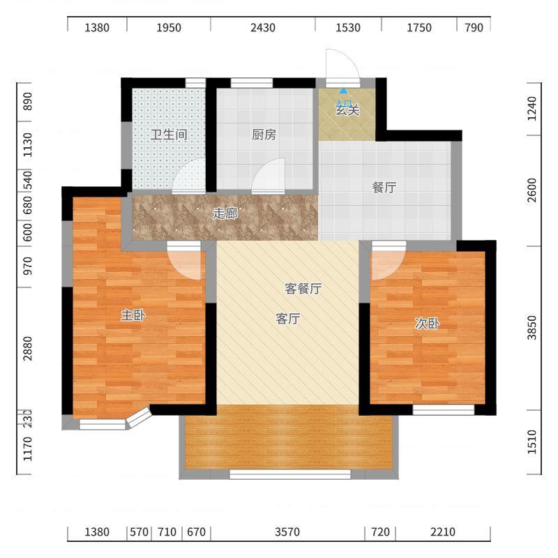 意境兰庭户型图