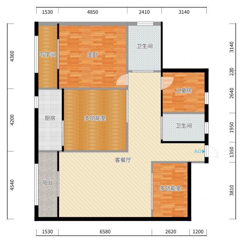 紫金庄园户型图