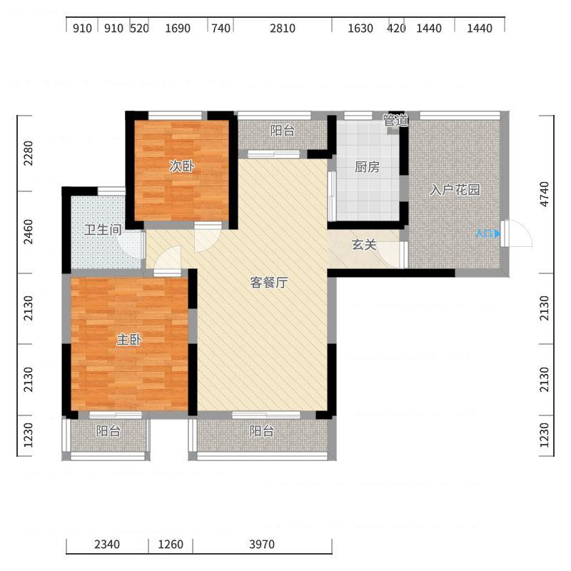 西山银杏户型图