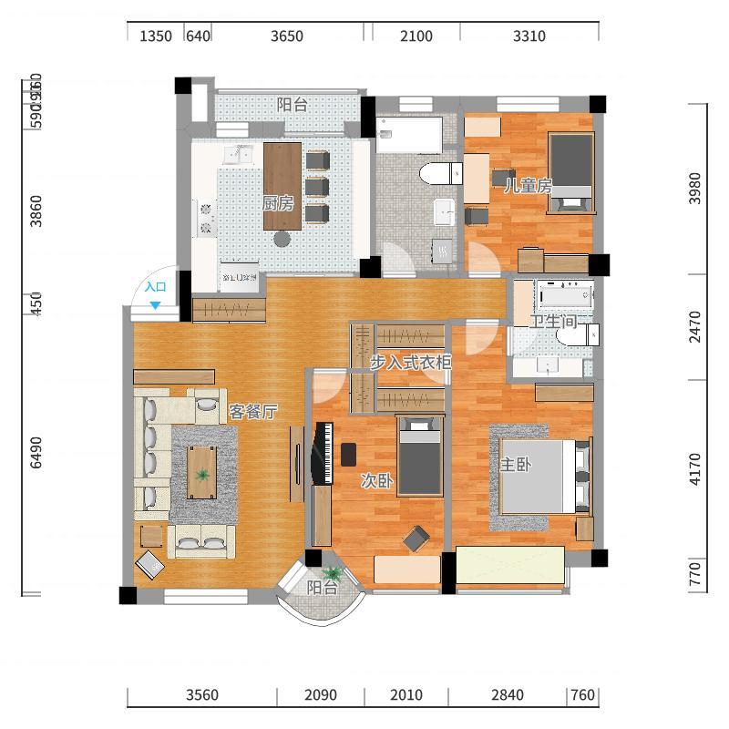 西岗-半岛故乡-设计方案-副本户型图