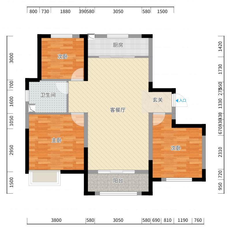 呼和浩特_中海蓝湾_2017-09-26-2133-副本-副本-副本-副本-副本-副本户型图