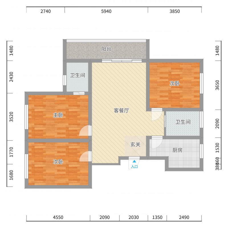 鹤壁_漓江柳岸_2017-10-24-1123户型图