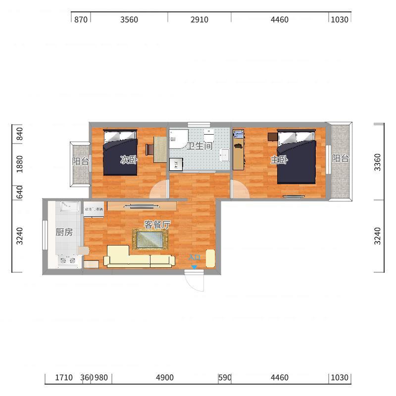 金州古城丁区32号楼户型图