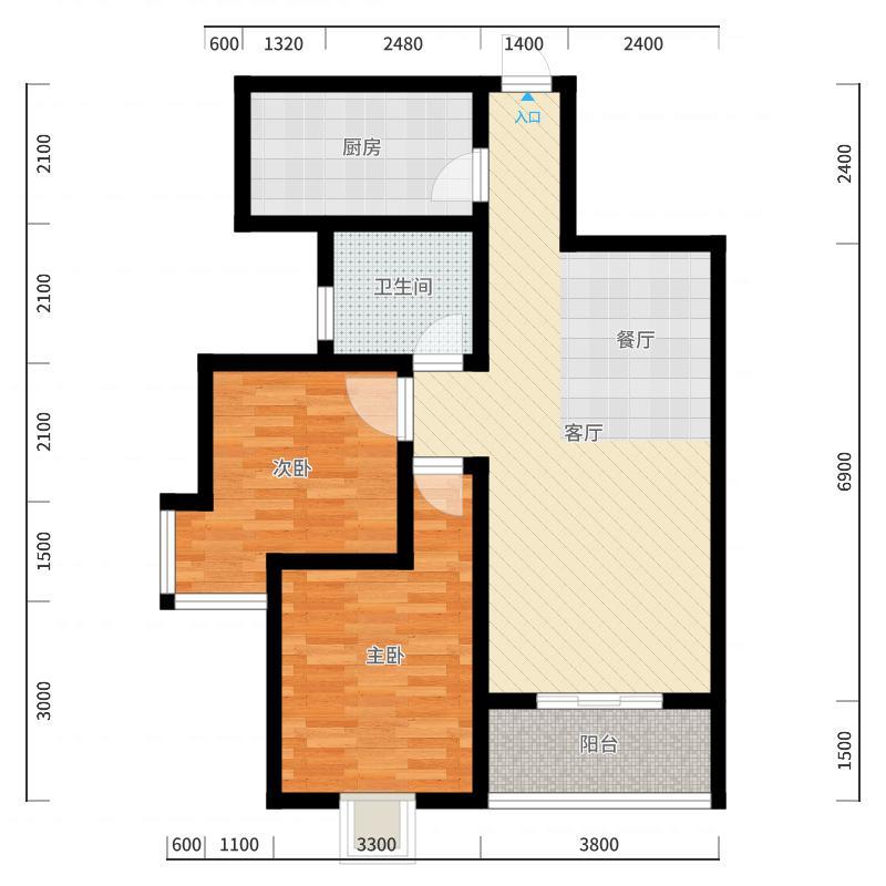 西安_黎明・风和庭院_2017-10-24-1344户型图