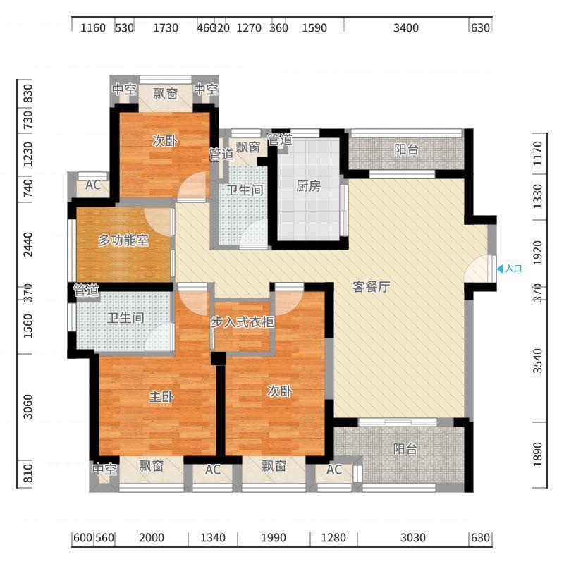 无锡_中城誉品_2016-09-23-1023户型图