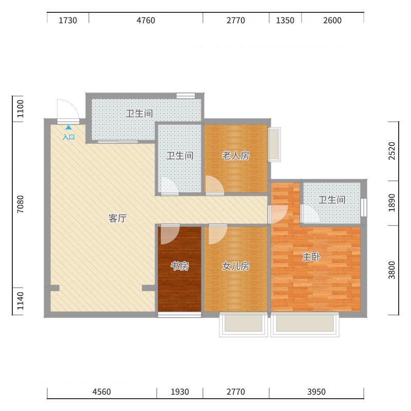 三峡学院22号楼宋老师户型图