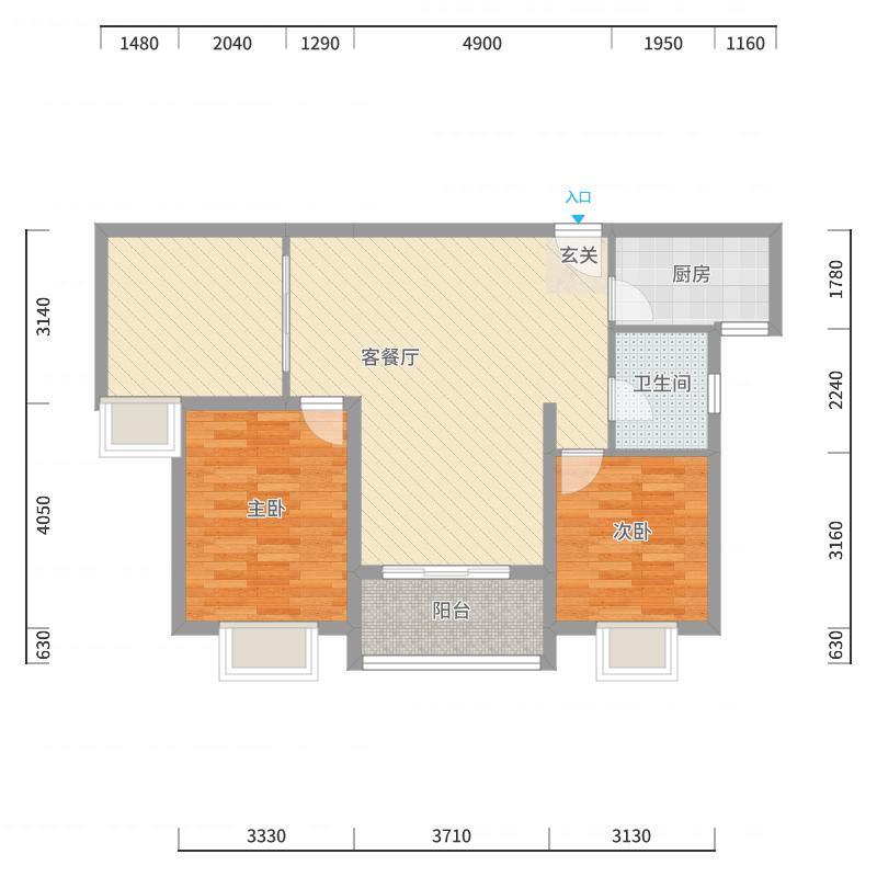 泉州_永春宝龙城市广场_2017-10-24-1501户型图