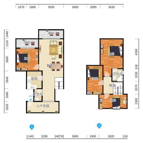 1023+玲玲+第10套+南光城市花园+88.17㎡+S2417545户型图