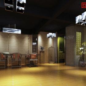 中式中式风格会所装修案例