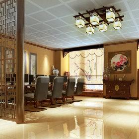 中式办公室设计案例展示