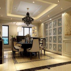 欧式欧式风格餐厅四居设计方案
