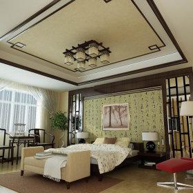 中式中式风格三居设计图