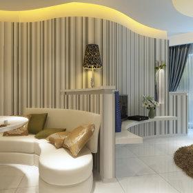 现代餐厅一居室设计案例