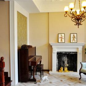 美式客厅别墅设计案例展示