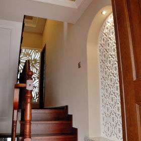 美式餐厅楼梯图片
