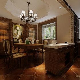 美式餐厅别墅图片