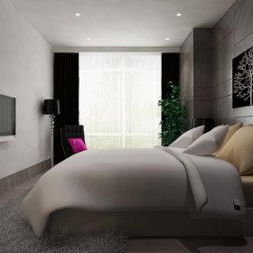 现代卧室跃层设计方案