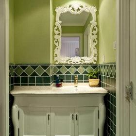 法式卫生间装修图