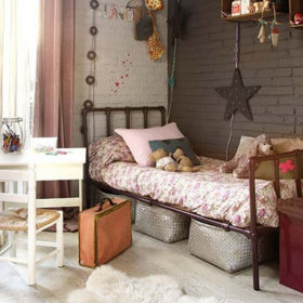 混搭卧室单身公寓设计案例