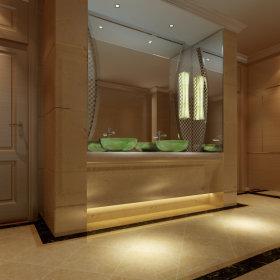 欧式卫生间售楼部装修效果展示