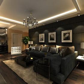 简约客厅背景墙沙发客厅沙发设计案例