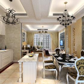 欧式餐厅酒柜设计案例展示