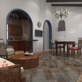 地中海地中海风格餐厅案例展示