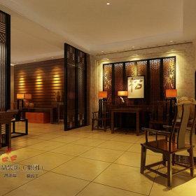 中式中式风格休闲区设计案例
