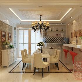欧式古典欧式风格餐厅三居图片