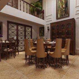 美式美式风格餐厅装修图