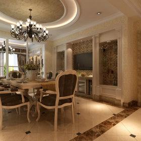 欧式简欧简欧风格餐厅吊顶设计案例展示