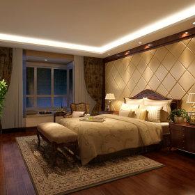 美式美式风格卧室设计案例