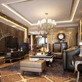 奢华客厅设计图