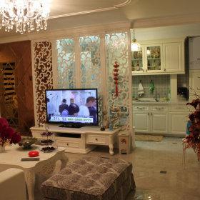 简欧简欧风格客厅背景墙电视背景墙设计图