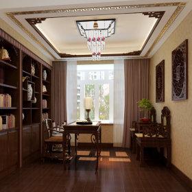 中式中式风格书房效果图