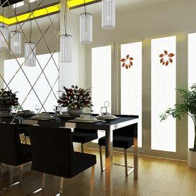 欧式餐厅吊顶图片