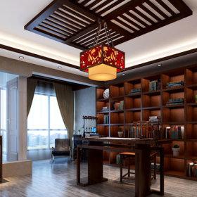中式中式风格书房设计案例展示