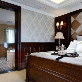 美式卧室装修效果展示
