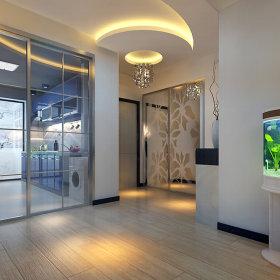 简约时尚玄关二居玄关柜设计案例展示