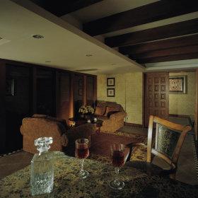 美式古典美式古典风格古典风格客厅装修案例