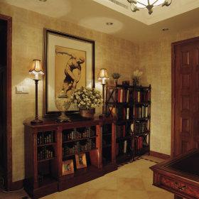 美式古典美式古典风格古典风格过道案例展示
