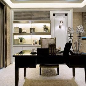 欧式古典欧式古典风格古典风格书房装修案例