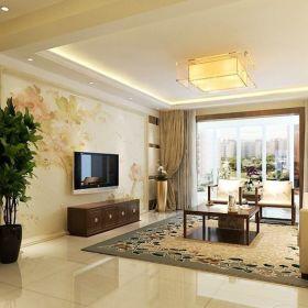 现代现代风格客厅三居案例展示