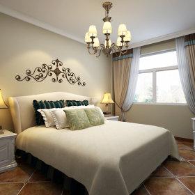 地中海地中海风格卧室装修图