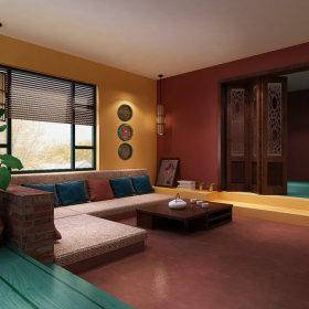 东南亚东南亚风格客厅案例展示