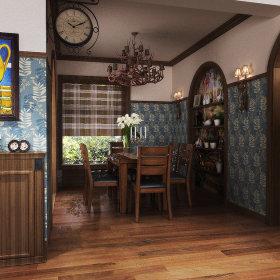 美式餐厅设计方案