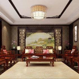 中式中式风格茶馆效果图