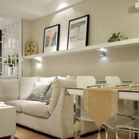 现代客厅沙发茶几布艺沙发案例展示