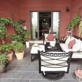 花园植物户外桌椅椅案例展示