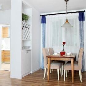 客厅餐厅隔断沙发酒柜布艺沙发设计方案